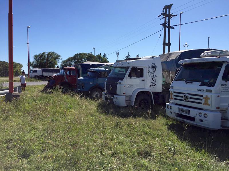 Transportistas autoconvocados piden que se adelante la fecha para aumentar tarifa