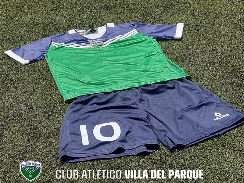 Presentación de Camiseta e inicio de actividades en Villa del Parque