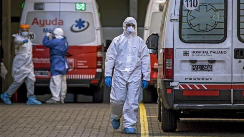 Hay 13.783 nuevos contagios y 194 muertes por coronavirus en el país