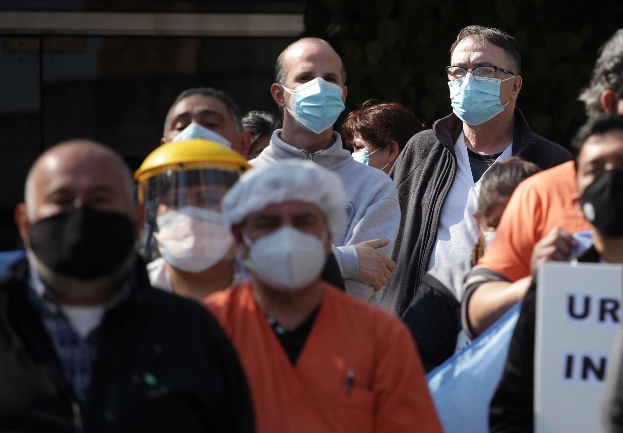 COVID en el país: se registraron 135 muertes y 12.725 contagios en las últimas 24 horas