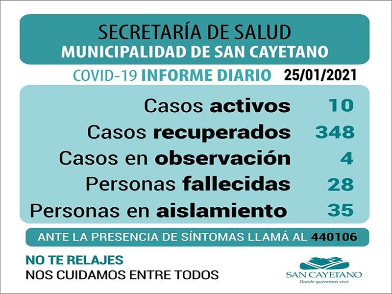 San Cayetano: Dieron de alta a un paciente y recibieron dos resultados negativos a coronavirus