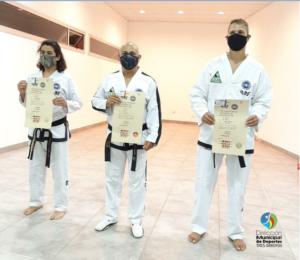 Deportes: logro de taekwondo en el Programa de Asistencias Técnicas