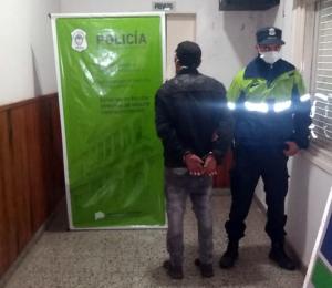 Chaves: un aprehendido por robo en una vivienda