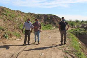 Sánchez visitó la Planta de Residuos de San Francisco de Bellocq