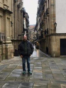 El tresarroyense Alfredo Laborde perfecciona la lengua vasca en Lazkao