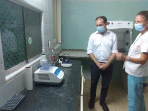 PCR en el Hospital: visita de supervisión desde Región Sanitaria