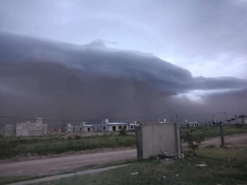 Alerta por tormentas fuertes con ráfagas en La Pampa