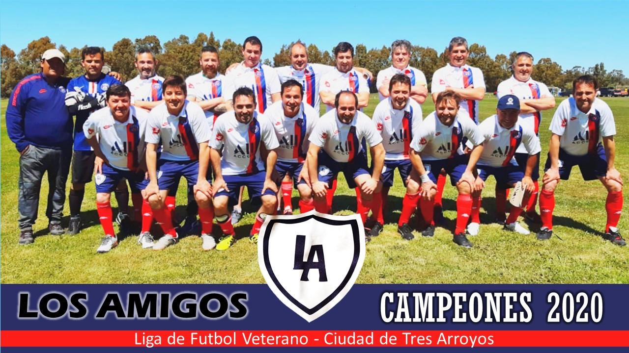 Los Amigos, campeones de la Liga de Veteranos