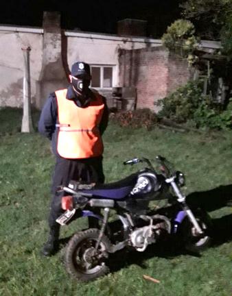 Secuestran moto por falta de documentación en Orense