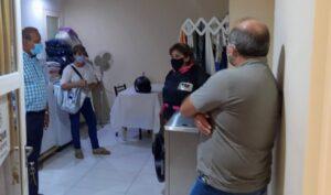 Sánchez y funcionarios supervisaron obras en el Centro de Salud de Orense