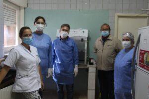 Los estudios PCR comenzarán hoy a realizarse en el Hospital Pirovano