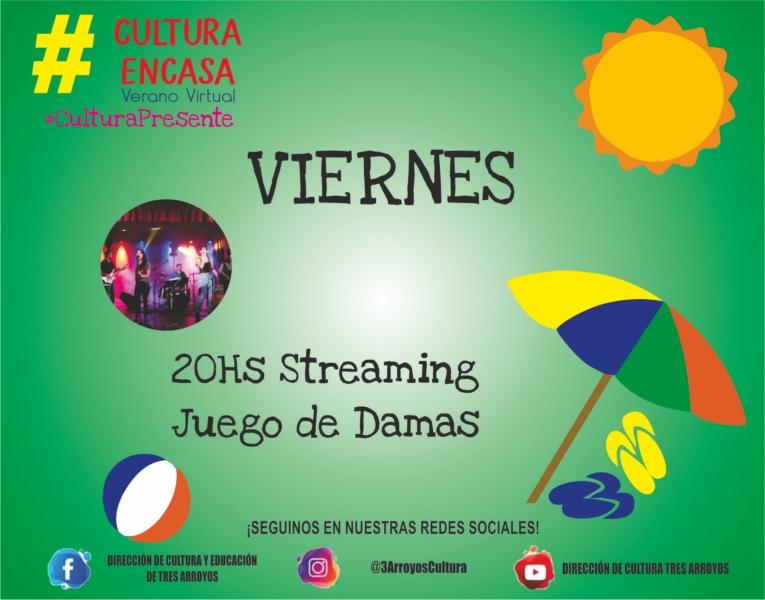 Vacaciones culturales: Juego de Damas por streaming este viernes