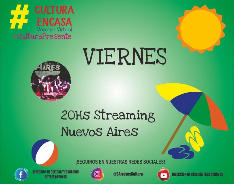 """Vacaciones culturales: """"Nuevos Aires"""" en streaming, propuesta para este viernes"""