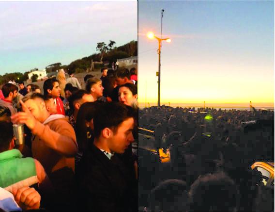 Madrugada de año nuevo totalmente en paz, en Claromecó y resto del distrito (videos)