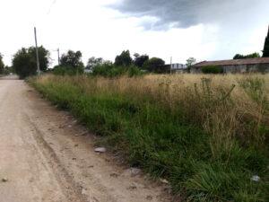 """Vecinos de Ruta 3 Sur reclaman limpieza en un """"terreno histórico"""""""