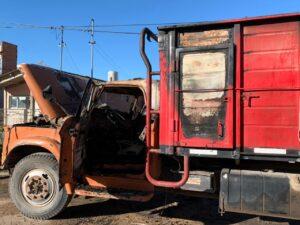Incendiaron otro camión esta madrugada (video)