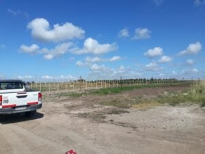 Sánchez e Izurieta y un repaso por la nueva entrada al Parque Industrial, cloacas en Olimpo y la Escuela 5 (video)