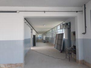 El Intendente y el Secretario de Obras Públicas visitaron la Escuela 5 (video)