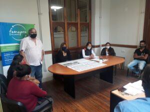 Productores de la UTT se reunieron con Fhurer y vieron los planos de los futuros puestos de venta