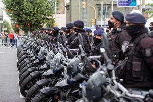 Kicillof, Berni y Espinoza pusieron en marcha nuevos patrulleros para La Matanza
