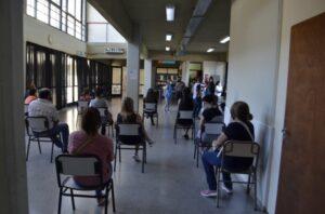 Covid-19: llegaron más vacunas a San Cayetano