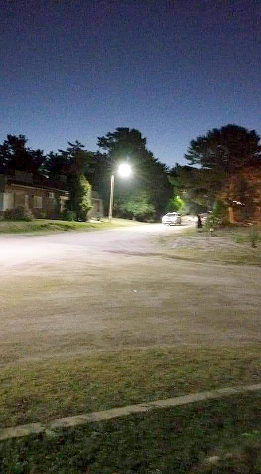 Colocarán 156 luces Led en San Cayetano