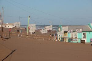 Claromecó: jornada con temperatura agradable pero con viento sur