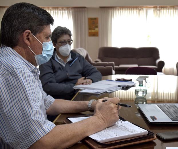 San Cayetano: Gargaglione se reunió con el Ministro de Salud