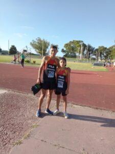 Santiago Henríquez batió récord local de 800 metros