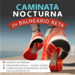 Este año habrá caminatas nocturnas en Reta, Orense y Claromecó