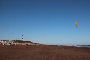 Maravillosa jornada de playa en Claromecó