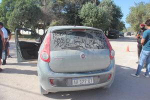 Fuerte choque entre dos autos en Claromecó