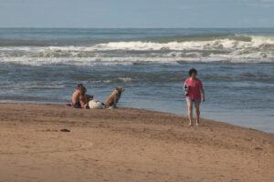 Postales de febrero en Claromecó