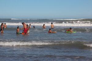Después de la lluvia, un día increíble en Claromecó