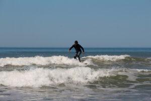 Excelente día de playa en Claromecó