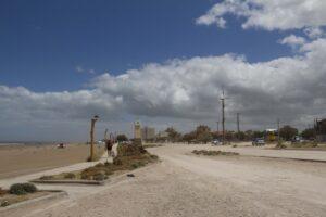 Jueves nublado y caluroso en Claromecó