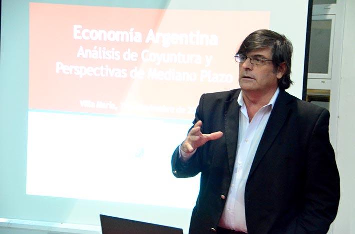 Carlos Seggiaro pone primera en Economía en las charlas DAN de 2021