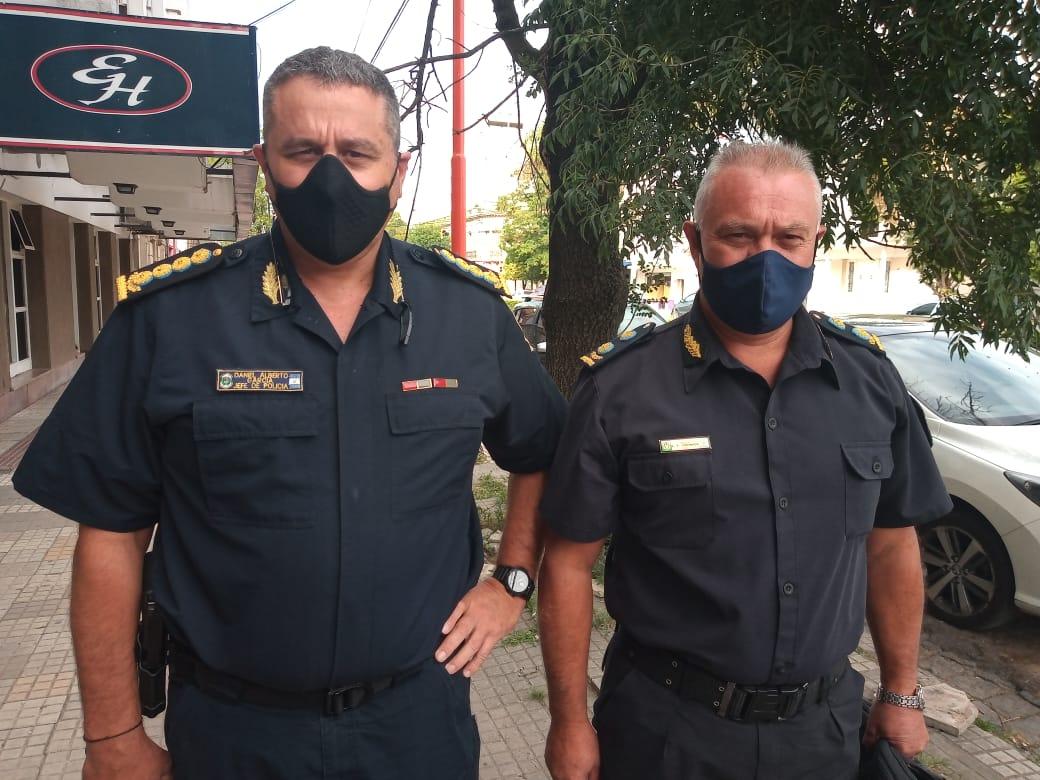 """El jefe de la Policía de la Provincia habló con LU 24: """"son servidores públicos los que arremetieron contra la dependencia"""""""