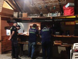 Junto a personal de ReBA, realizaron inspecciones integrales en comercios de Reta