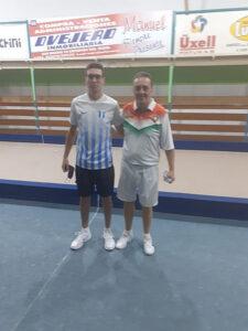 Hernán Rodriguez pasó a segunda instancia en el torneo individual de bochas