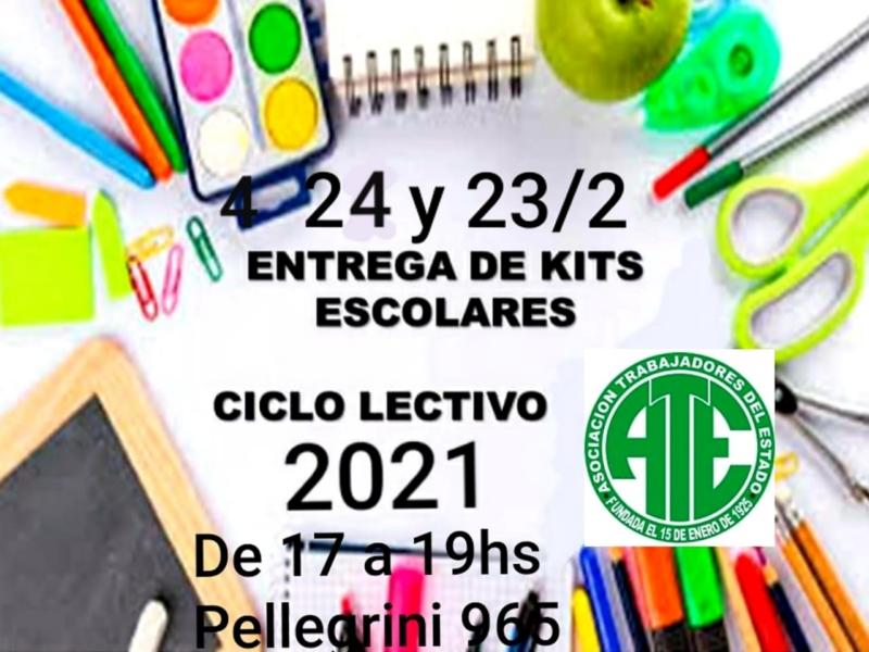 Requisitos para retirar los kits escolares de ATE