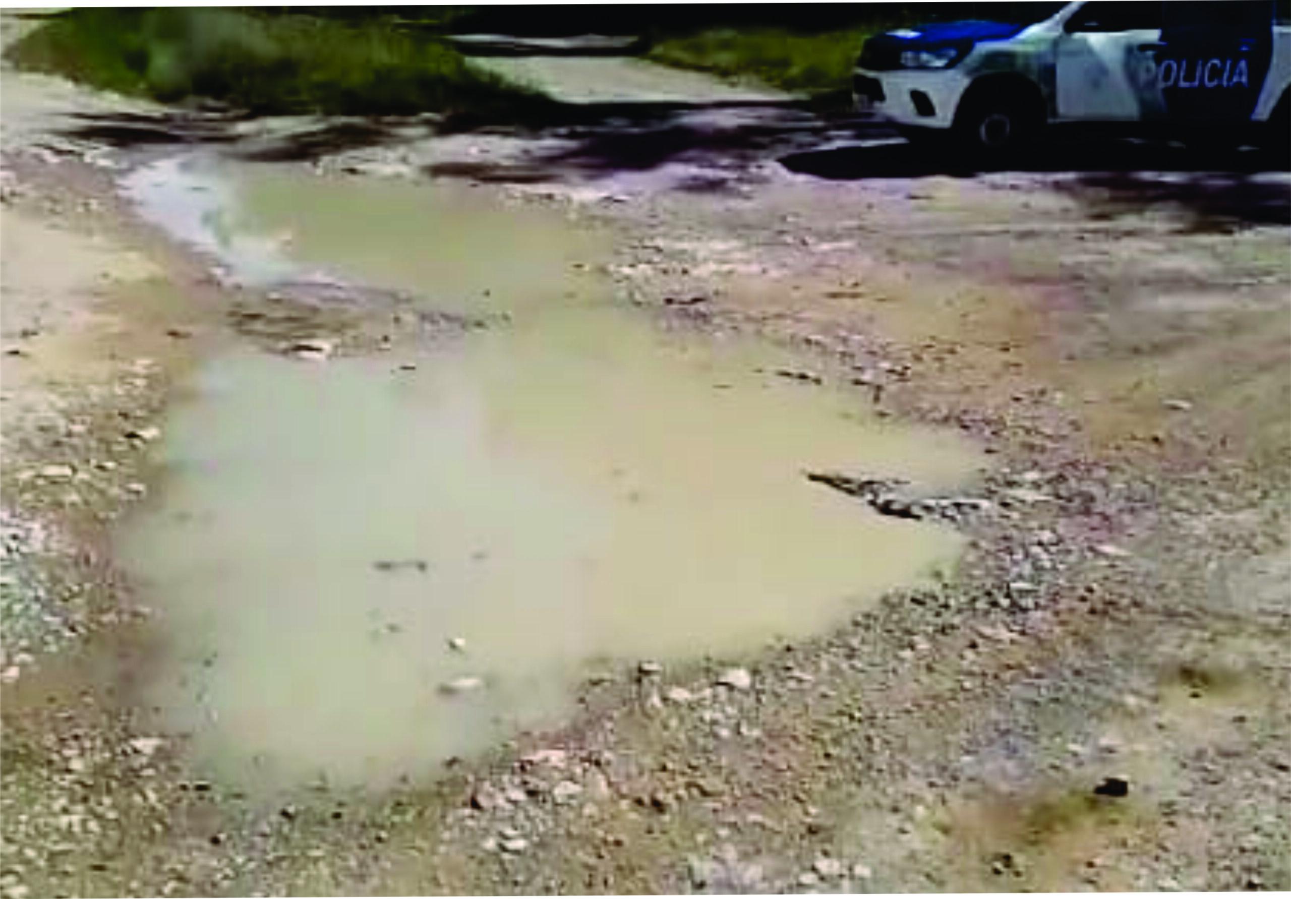 El accidente de la moto no fue en Alem según el informe policial, y el baden existe