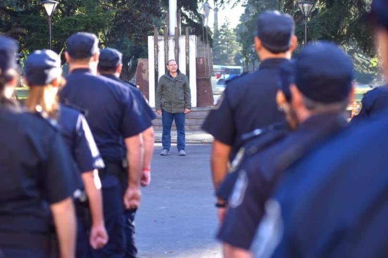 Ante nuevas protestas policiales, Berni decidió sacar de servicio a 400 efectivos