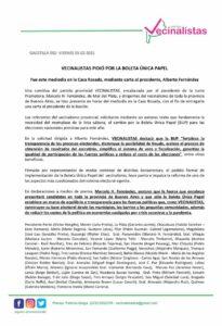 """El concejal Sergio Pescader (Todos) firmó un pedido del partido """"Vecinalistas"""" para que haya boleta única en las elecciones"""