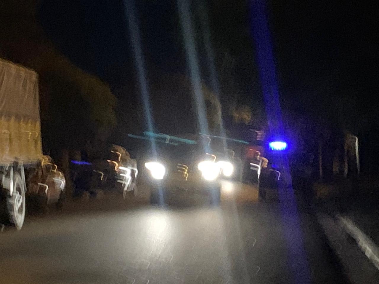 Suceso extraño con un camión motivó presencia policial
