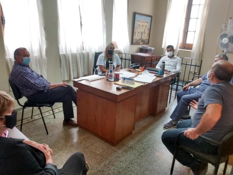 Sánchez visitó el Centro Municipal de Salud para trazar las metas sanitarias