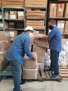 Serán entregadas casi 2 mil mascaras de protección para el personal de educación