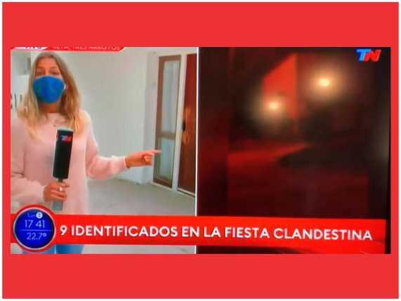 """Todo Noticias rectificó el término: cambió """"detenidos"""" por """"identificados"""""""
