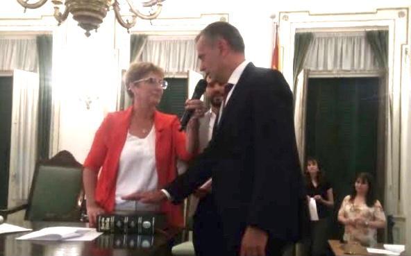 Se va Nickel, Cittadino presidenta del Concejo Deliberante