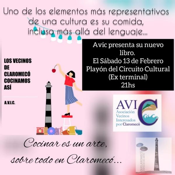 La AVIC presenta el sábado 13 un nuevo libro en Claromecó